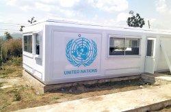 Karmod heeft voor de VN-Vredesmacht een behuizingsproject opgezet in Nigeria