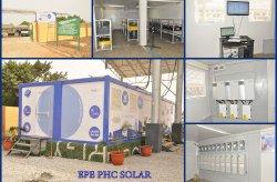 De nieuwe containergeneratie van Karmod wordt gebruikt voor de opslag van zonne-energie in Nigeria.