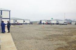 Geprefabriceerde bouwplaatsen voor de aardgasleiding in het Shahdeniz-2 Project