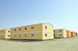 Karmod heeft in 7 maanden een  geprefabriceerde stad voor 10.000 personen gerealiseerd