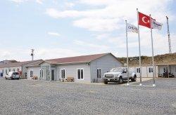 De bouwplaatsen van het derde vliegveld in Istanbul zijn gerealiseerd door Karmod