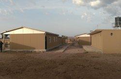 Karmod voltooide militaire faciliteiten in Nigeria