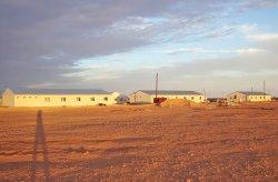 Geprefabriceerd bouwplaatscomplex in Algerije
