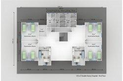 Geprefabriceerde Medische Gebouwen - Plannen